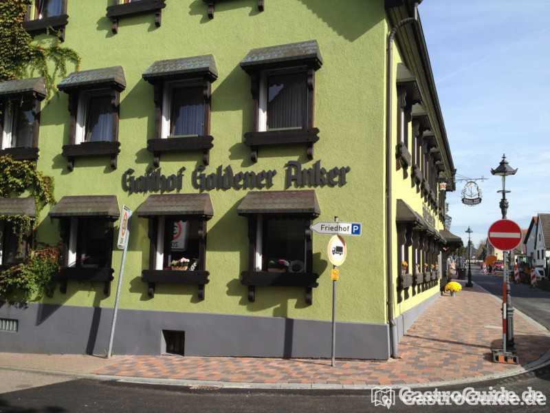 Landgasthof zum goldenen anker restaurant landgasthof for Schickes hotel