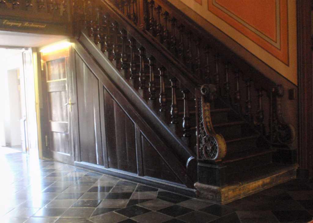 Treppe im Flur