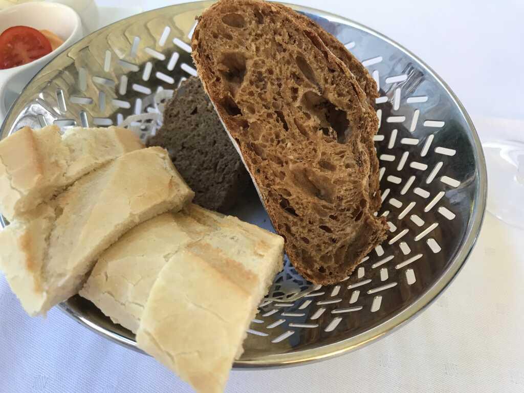 dreierlei frisches Brot