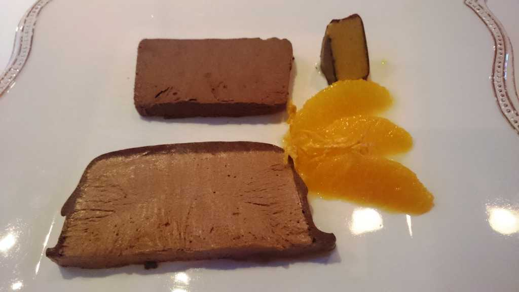 Feinstes Schokoladenparfait