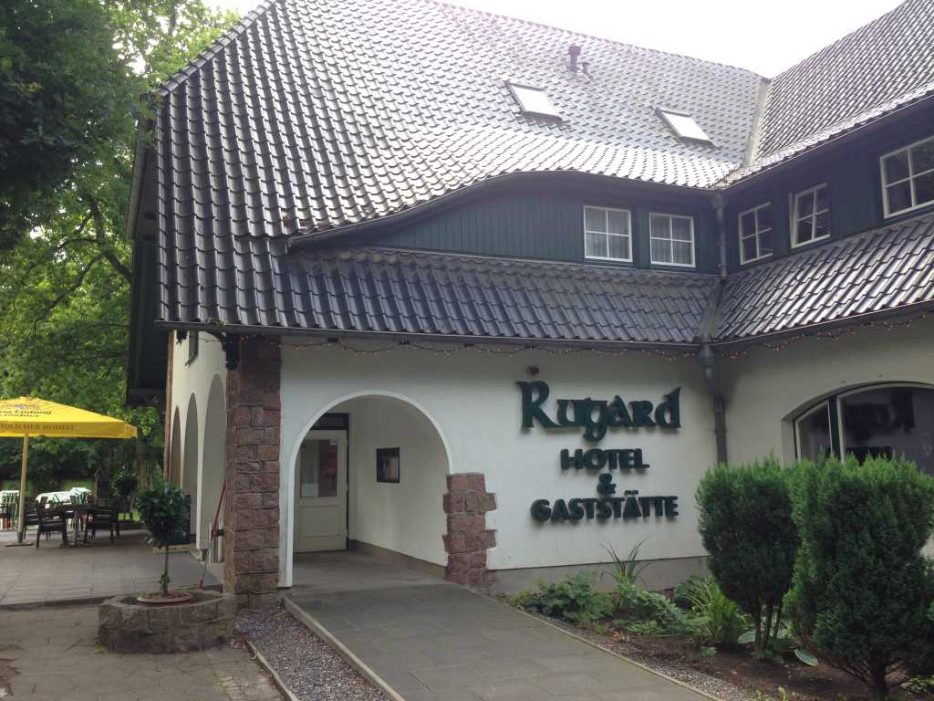 Hotel und Restaurant Rugard im Juli 2017