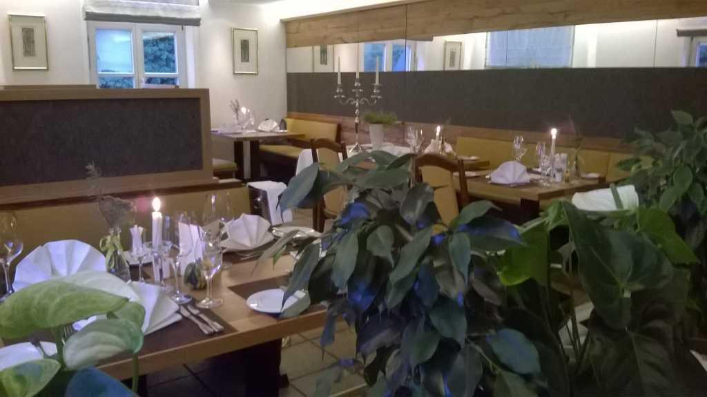 Teilansicht Restaurant