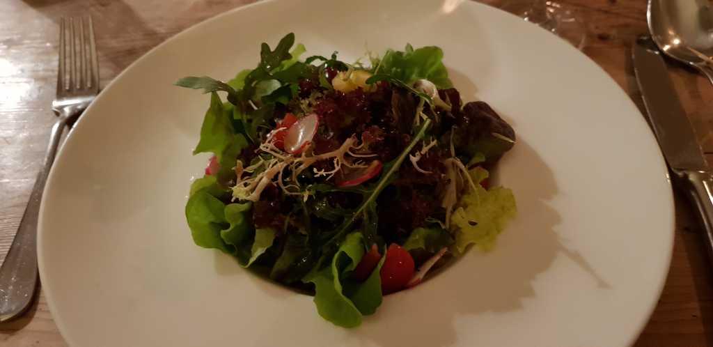 kleiner Salat der Saison