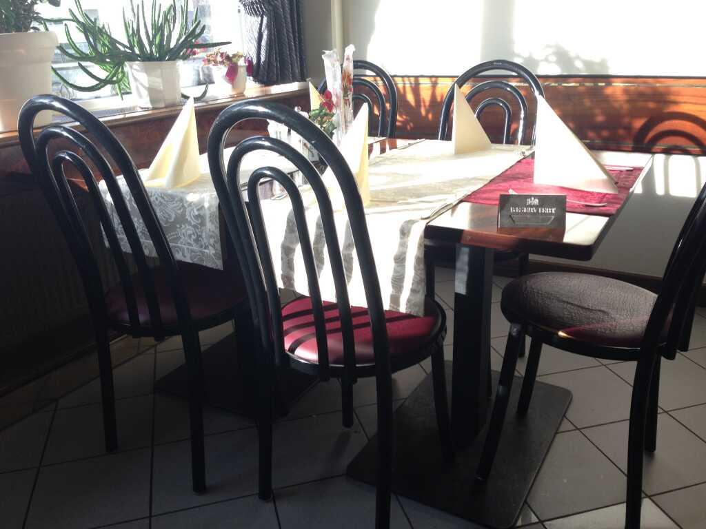 Tisch- und Dekoration
