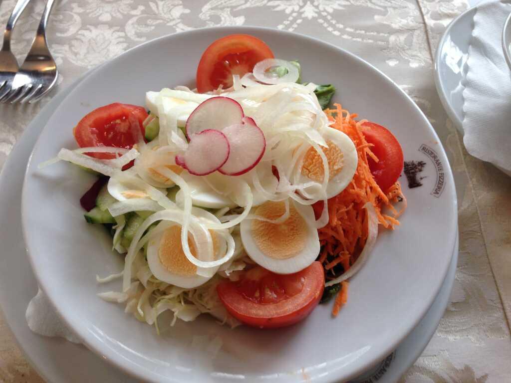 kleiner italienischer Salat