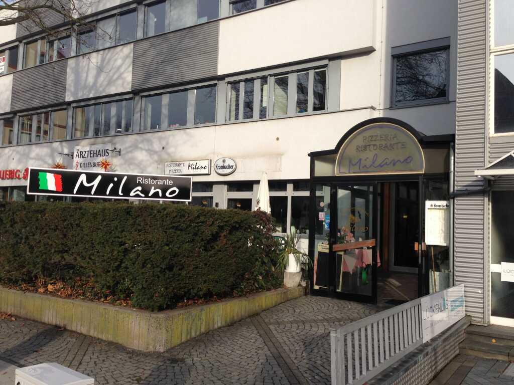 Eingang zum Milano