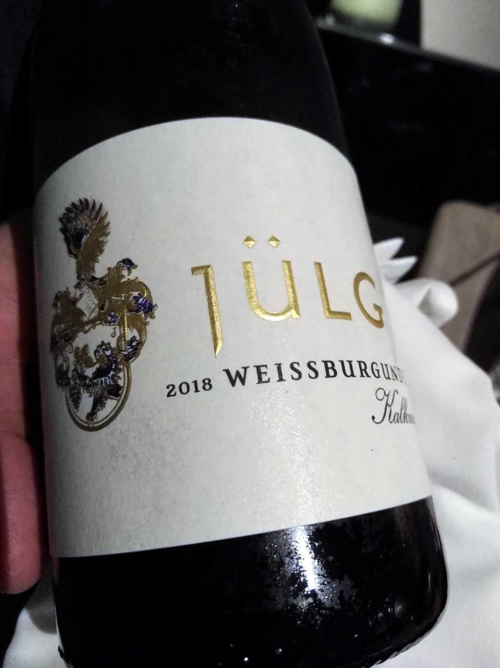 Der Wein des Abends
