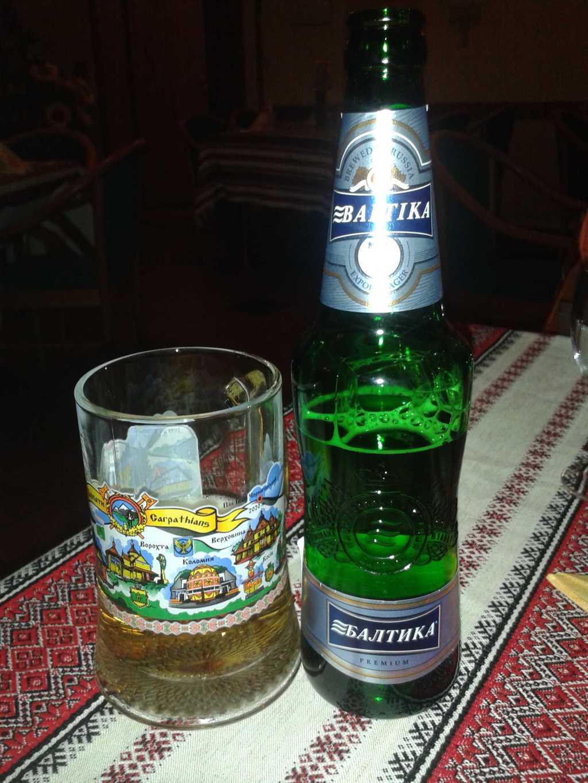 Russisches Baltika Bier