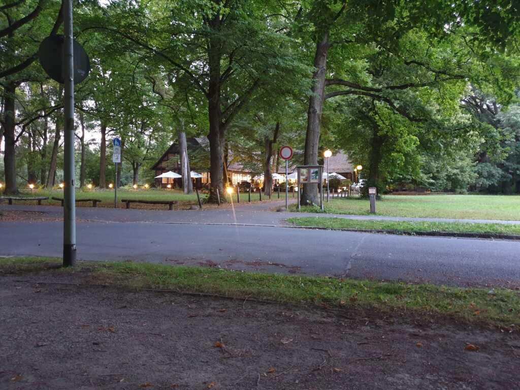 Blick vom Parkplatz