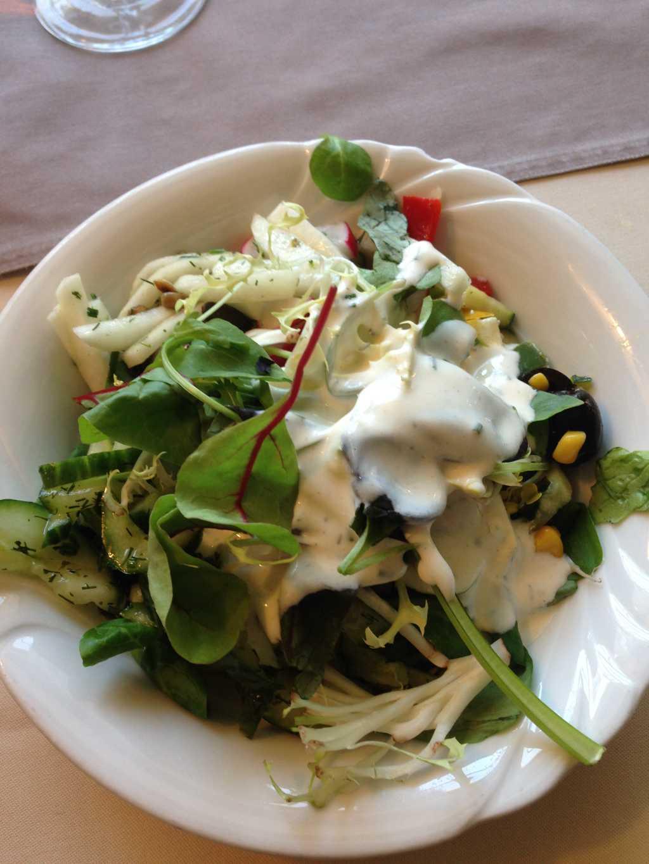 Salat vom Büffet von Herrn Schwalmwelli
