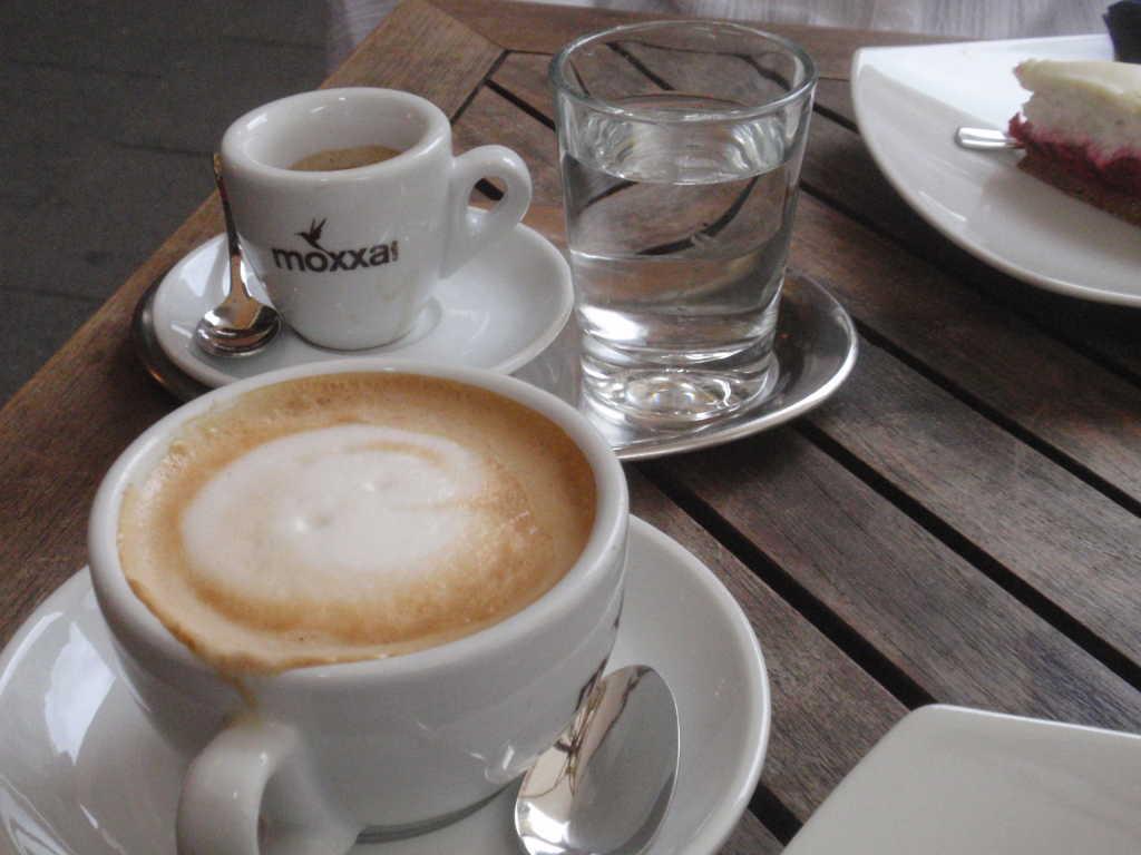Espresso und Cappucciono