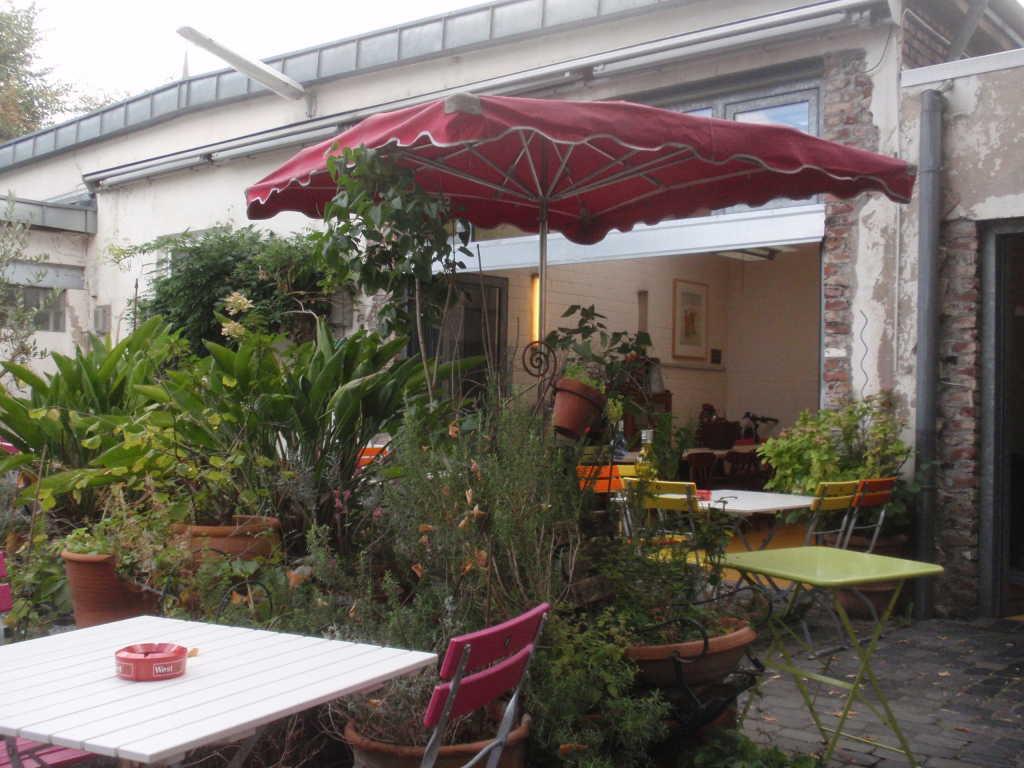 Teilsicht Garten