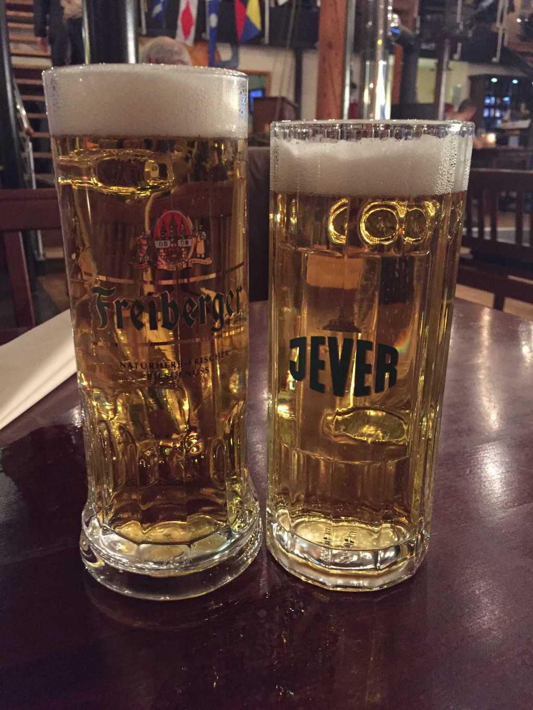Freiberger Pilsner & Jever Pilsner