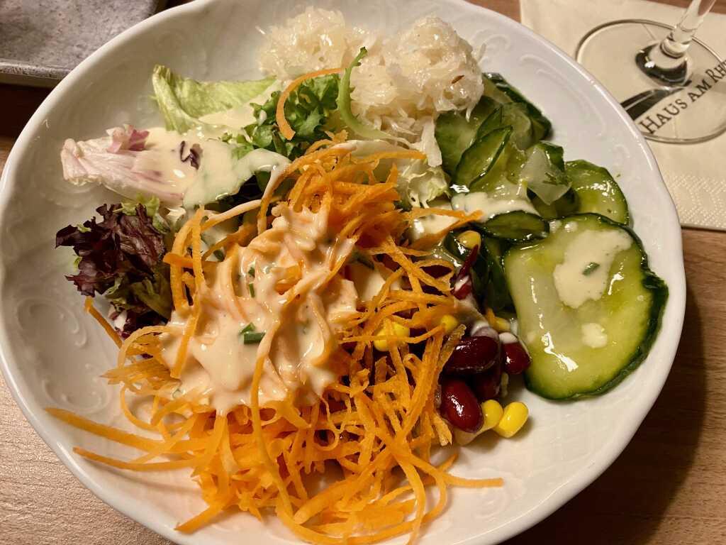 Salat meiner Frau