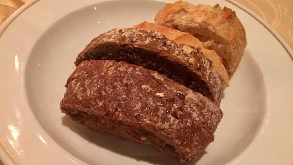 Brot zur Käseauswahl