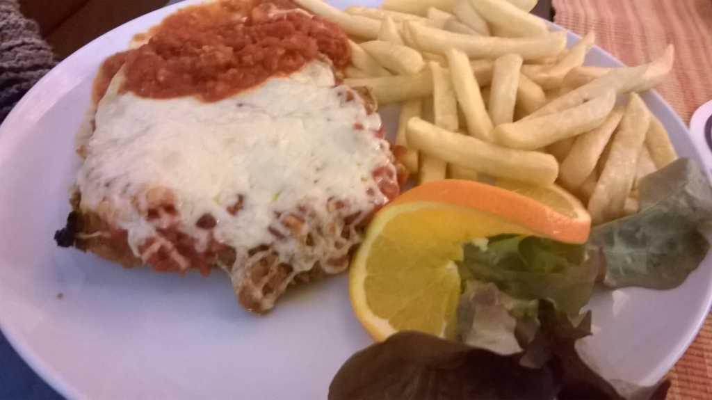 Schnitzel Bolognese