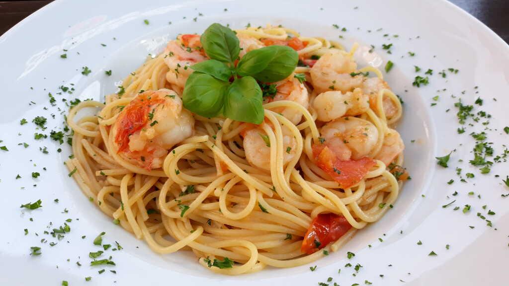 Spaghetti Gambas