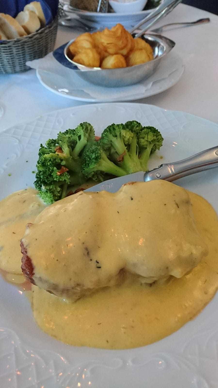 Kalbsrücken Steak mit Trüffel