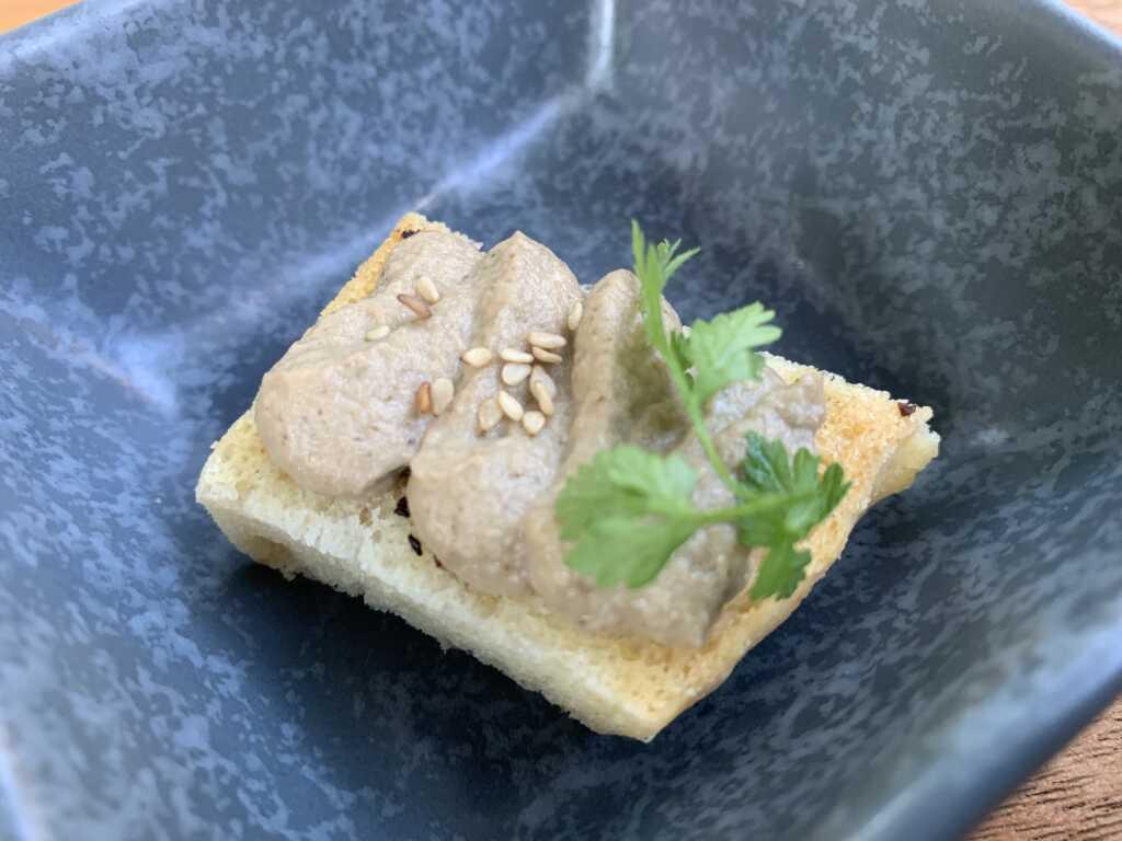 28.07.21 Küchengruß Auberginenmuosse mit Sesam