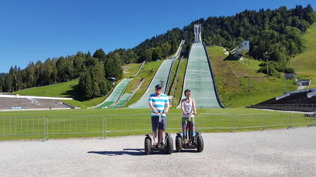 Garmisch auf dem Segway erkunden - unbezahlbar