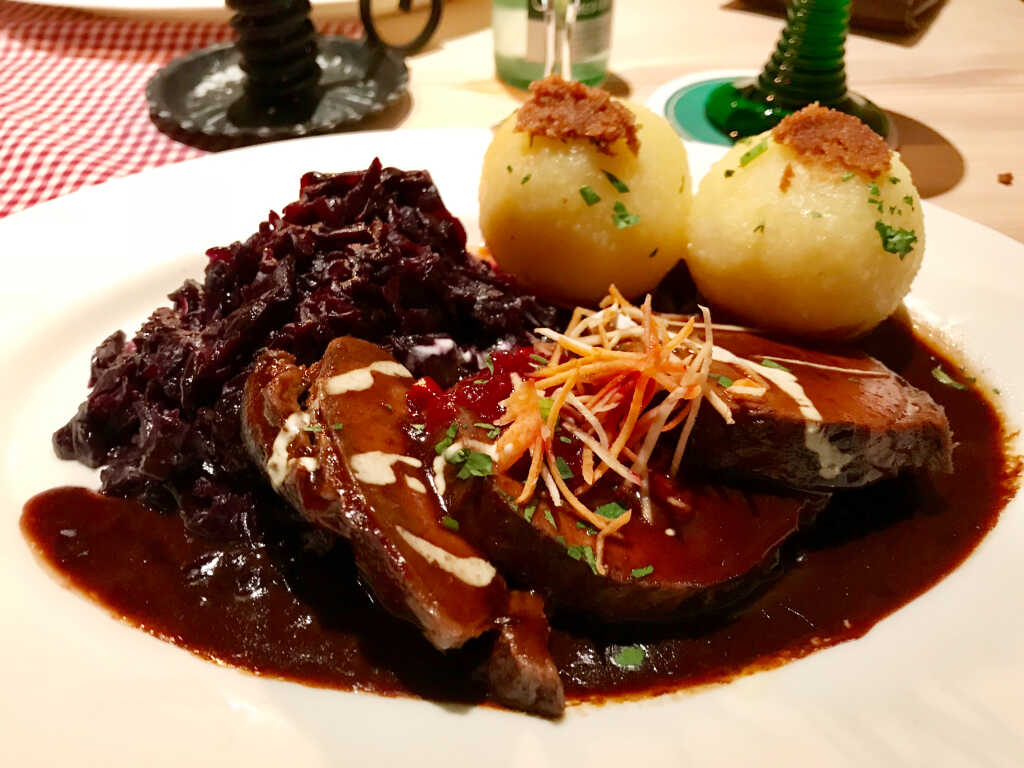 Sauerbraten Close Up