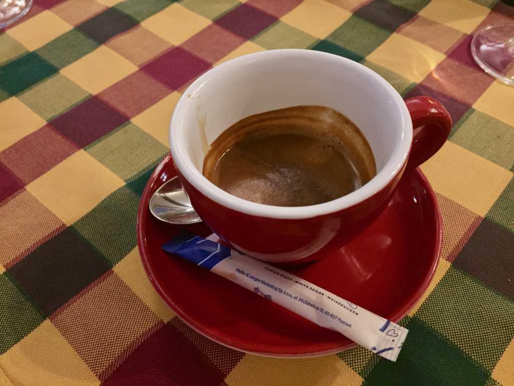 Doppelter Espresso