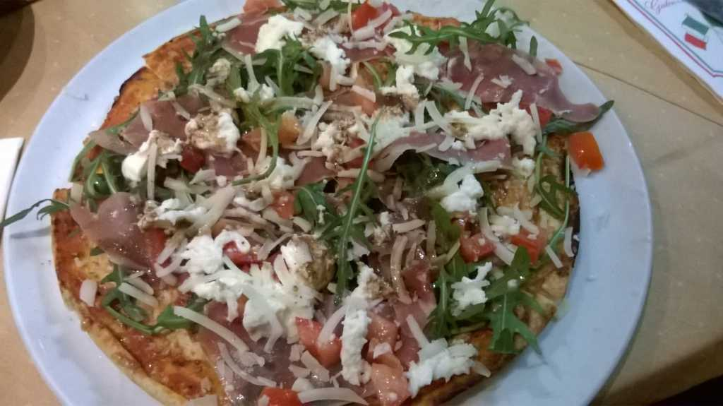Pizza la Crudaiola