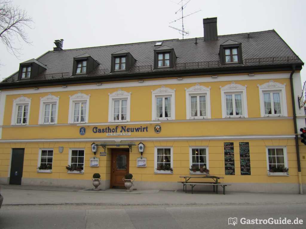 gasthof neuwirt restaurant biergarten gasthof in 85748. Black Bedroom Furniture Sets. Home Design Ideas