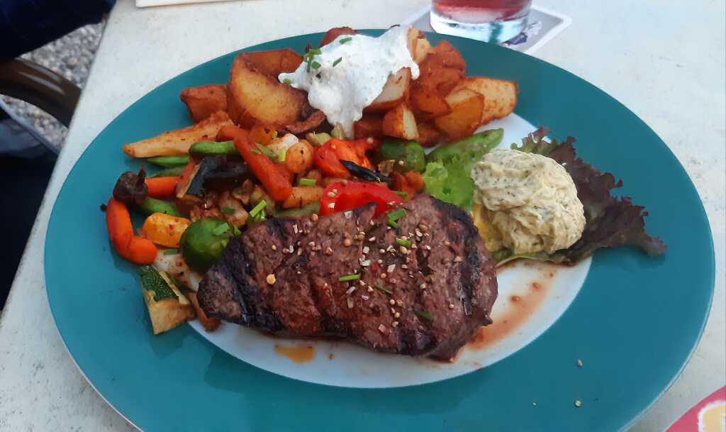 die Steaks sind legendär