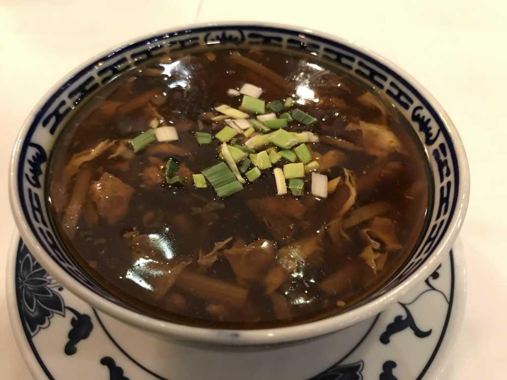 Suppe süß-sauer