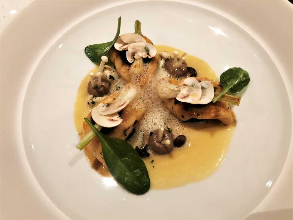 Seezunge vom kleinen Boot  | Pilze | Lauch | Vin Jaune