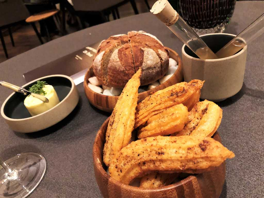 Brot, Churros, Butter, Brottrunk