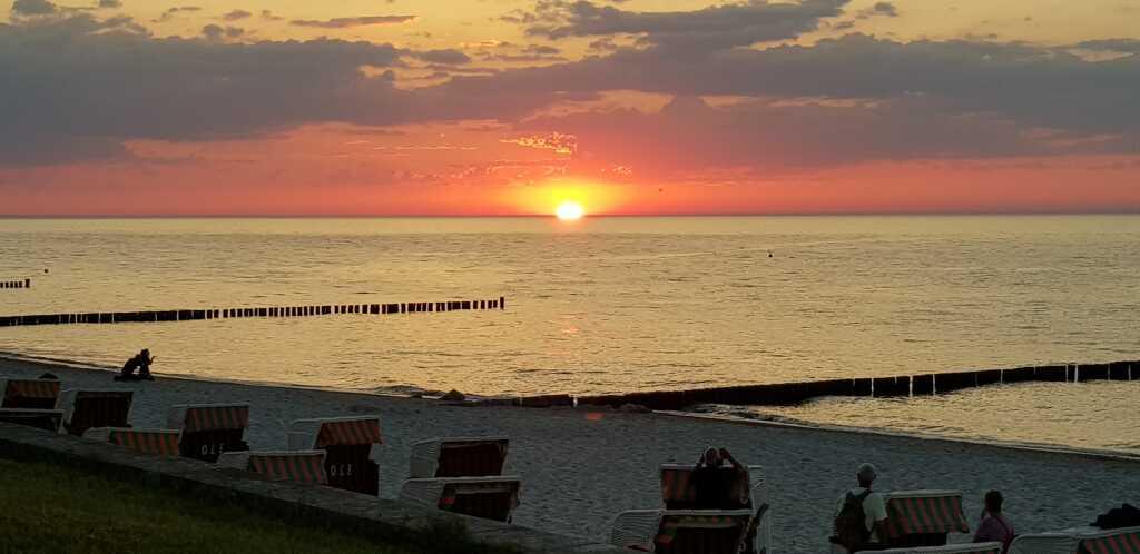Perfekter Abend - perfekter Sonnenuntergang
