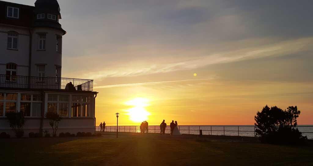 Blick vom Restaurant zur Ostsee