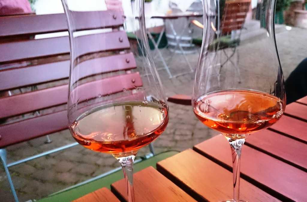 Orange Wein