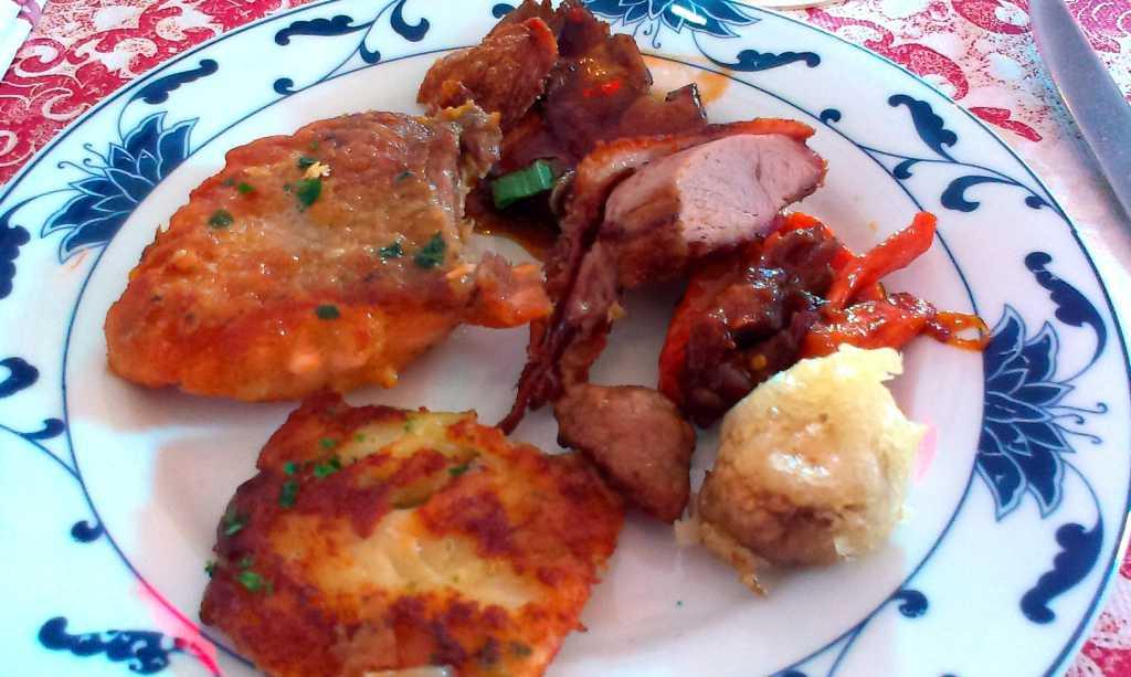 Fleisch- und Fisch-Auswahl (Teller)