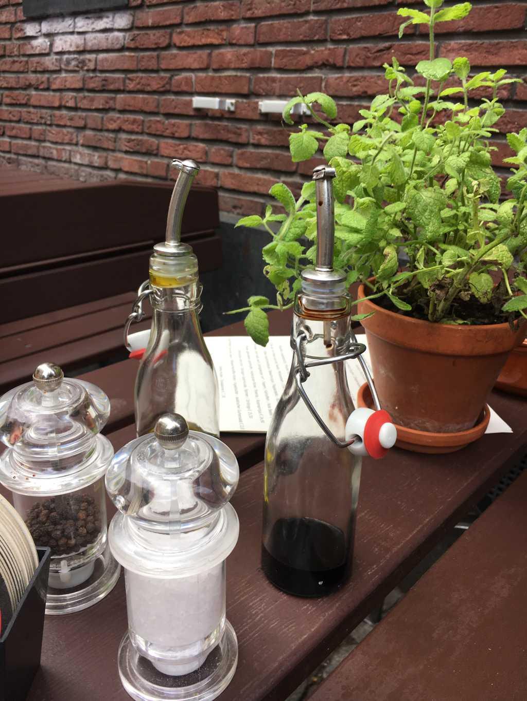 Essig Öl / Tischdeko