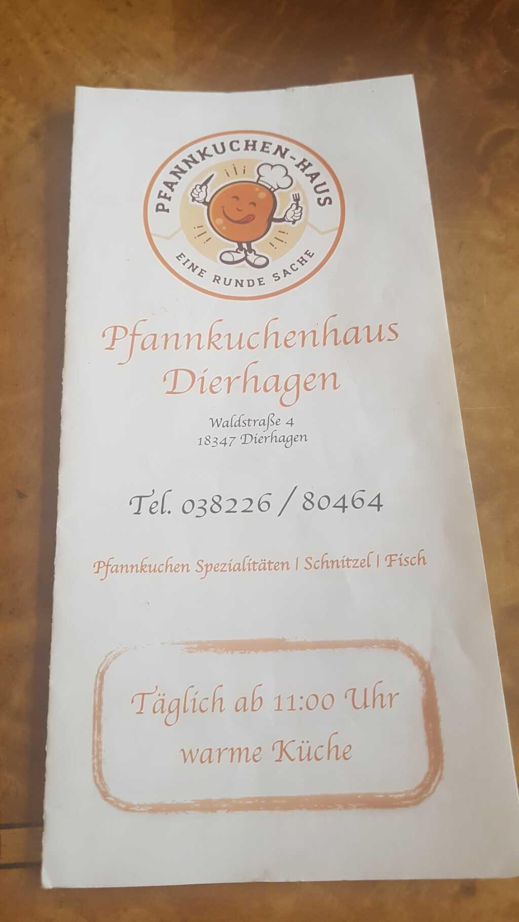 Speisekarte-oder Flyer