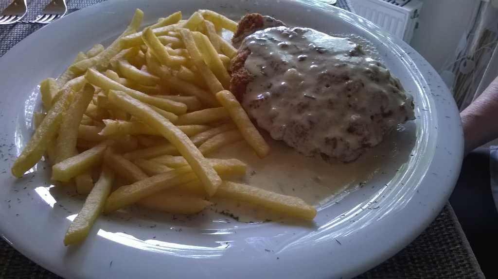 Schnitzel Gorgonzola