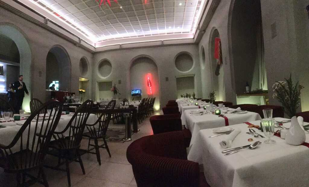 Der große Speisesaal namens