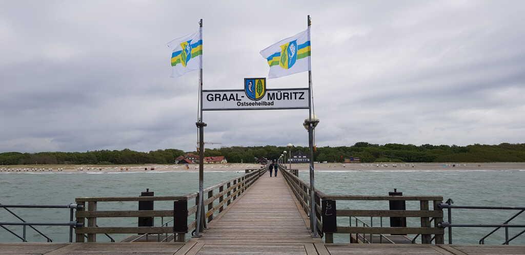 Das Restaurant befindet sich in der Nähe der Seebrücke