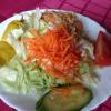 einfacher Beilagensalat, leckerer Krautsalat auf 12 Uhr