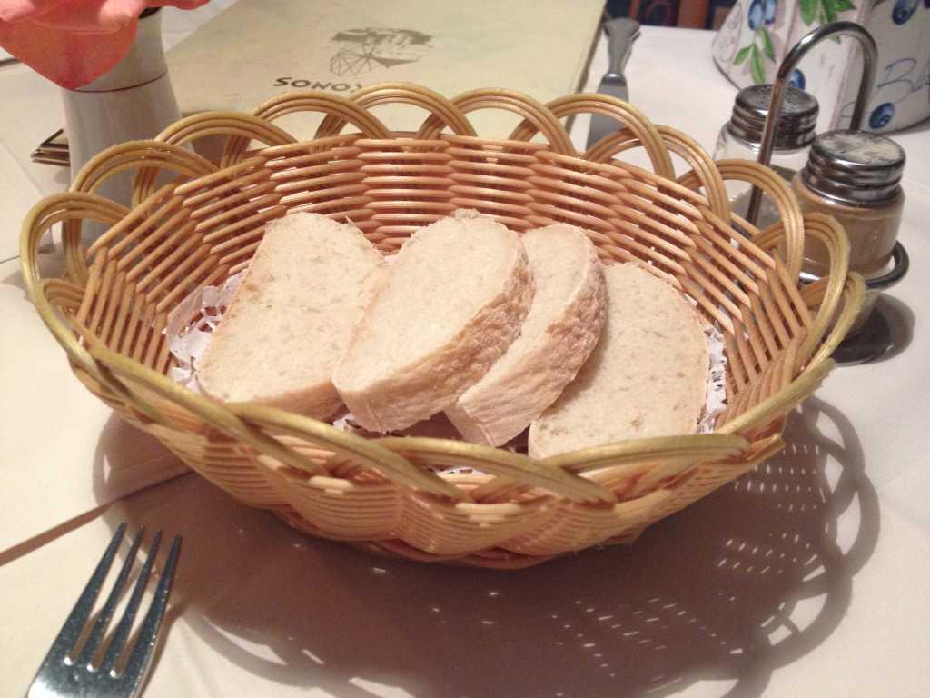 Brot für das Tzaziki