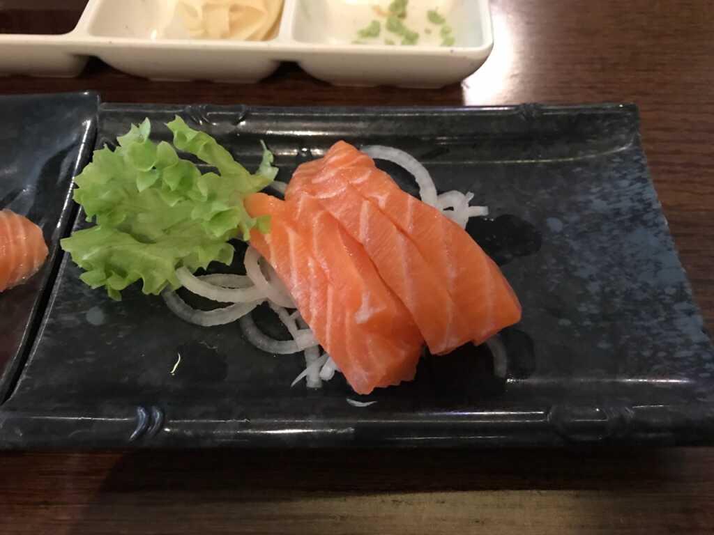 Sashimi so breit wie hoch