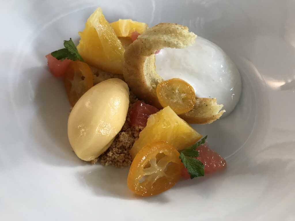 Dessert: Zitrusinfusion