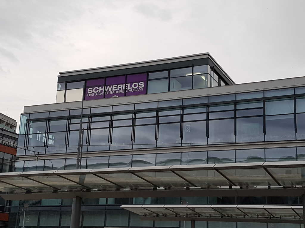 Kugelhaus gegenüber des Hauptbahnhof