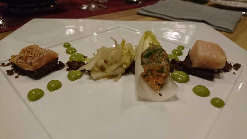 Dreyerlei Forelle, Filet, Geräuchert und Tatar