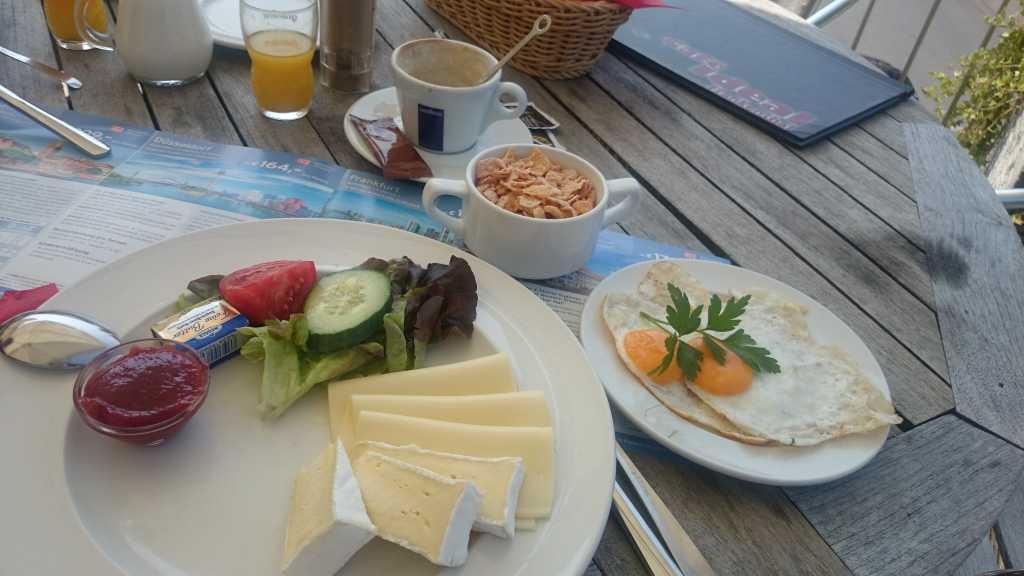 einfaches Frühstück ...