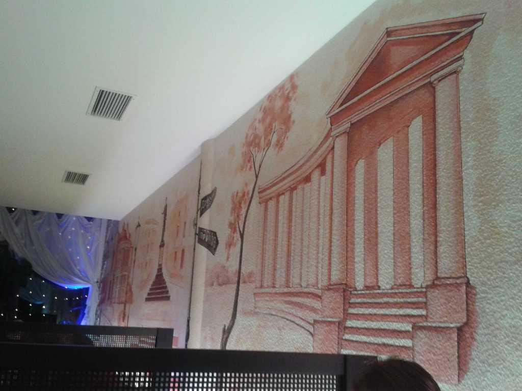 Wandmalerei im russischen Stil ??
