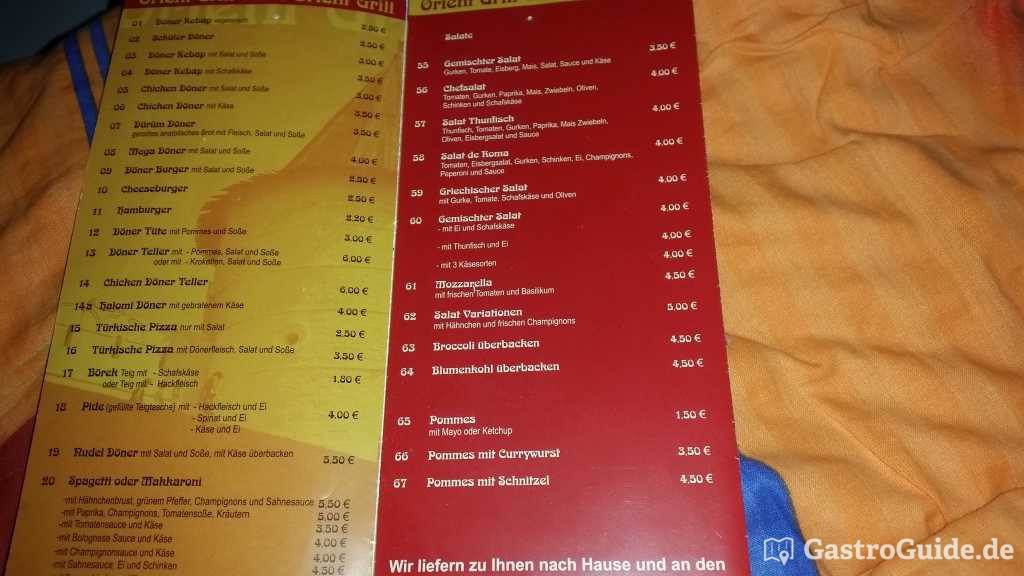 Orient grill lieferdienst imbiss in 14776 brandenburg an for Asia cuisine brandenburg havel
